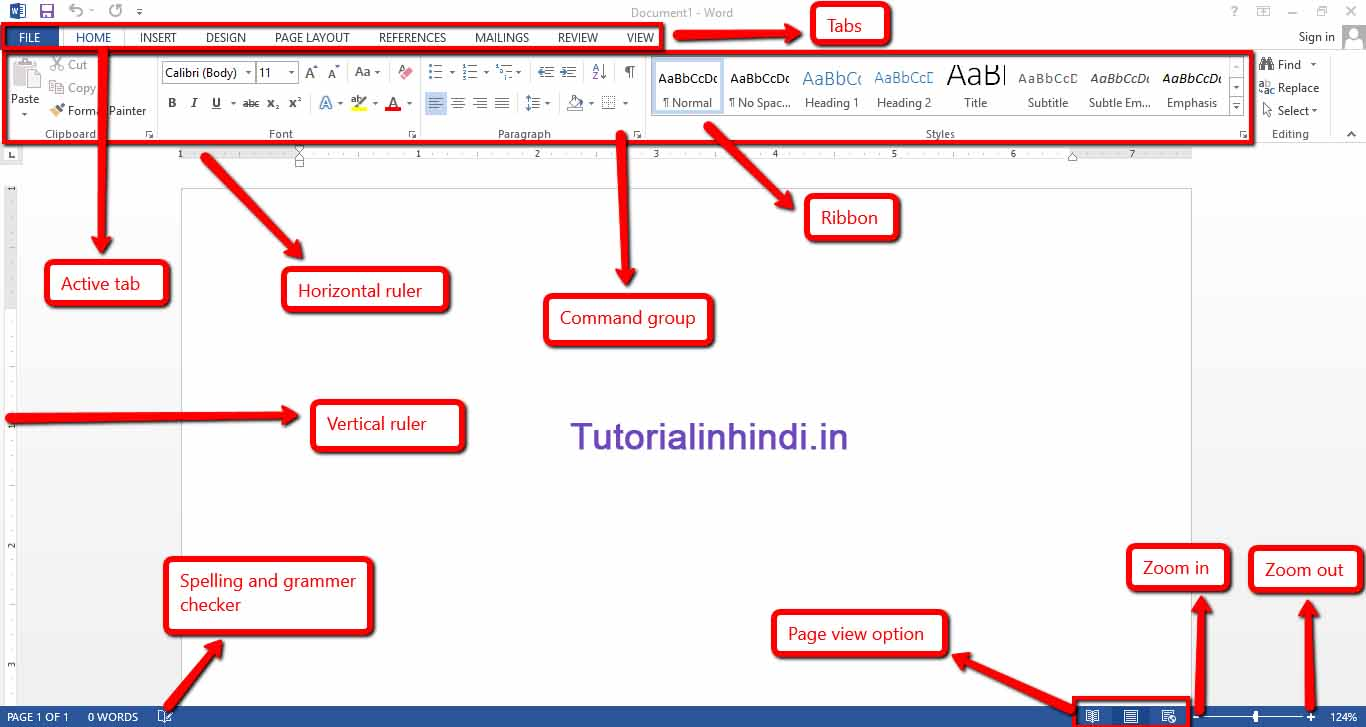 What is ms word and its features - Introduction to ms word